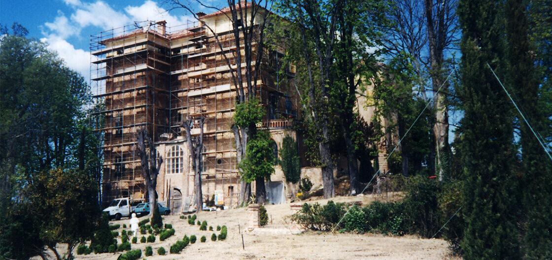 castello di piea in costruzione impresa edile rec costruzioni generali