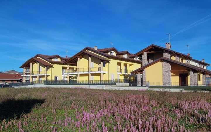 complesso condominiale in pietra e muratura impresa edile rec costruzioni generali