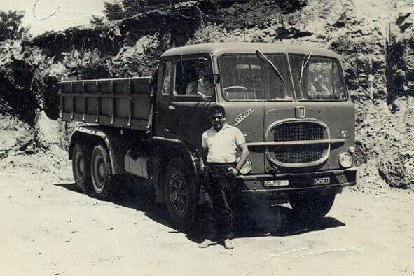 Camion d'epoca REC Costruzioni Generali s.a.s.