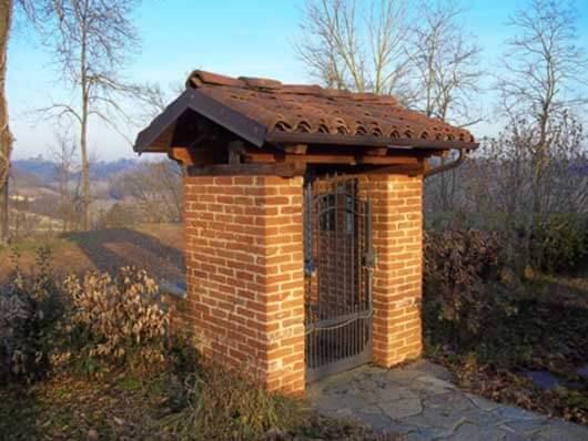 ingresso pedonale in mattoni pieni impresa edile rec costruzioni generali