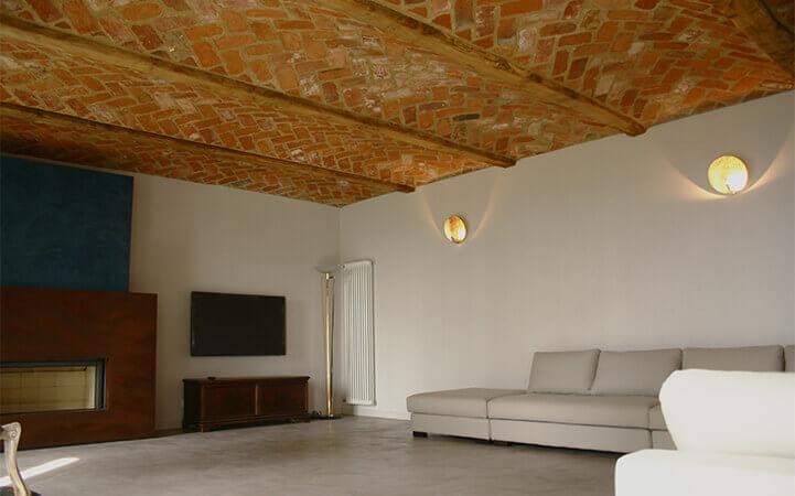 soffitto a volte in mattoni pieni impresa edile rec costruzioni generali