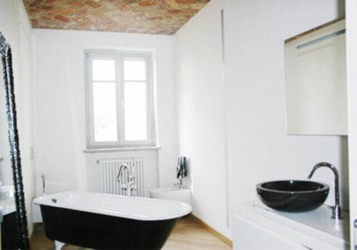 vasca da bagno in stile di arredamento vintage impresa edile rec costruzioni generali